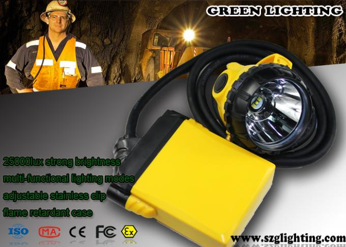 IP68 Explosion Proof  Miners Cap Lamp