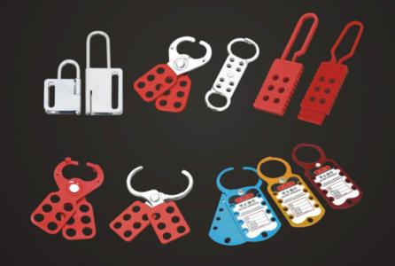 Steel Lockout Tagout Hasp