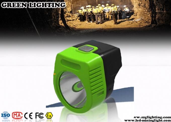 110 Lum Cordless Led Mining Cap Lamp 6000 Lux Main Brightness Explosion Proof