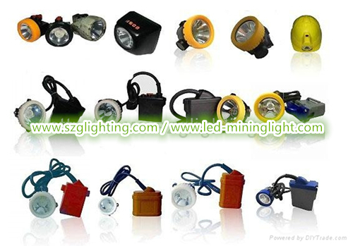 GL12-A IP68 490g Weight 3W 25000Lux 10.4Ah Rechargeable LED Headlamp