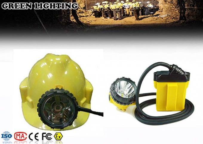 IP68 25000Lux Brightness Rechargeable LED Headlamp With 18hours Working Time