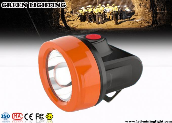 110Lum 0.85W Cordless Safety Rechargeable LED Headlamp for Underground Mine with USB Charger