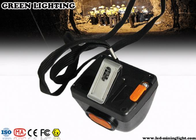 Cordless Mining Rechargeable LED Headlamp With 3W LCD Display 4500mAH Battery