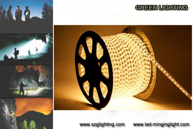 SMD5050 7.2W / M 0.6A Colorful Safety LED Flexible Strip Light IP67 Waterproof Grade