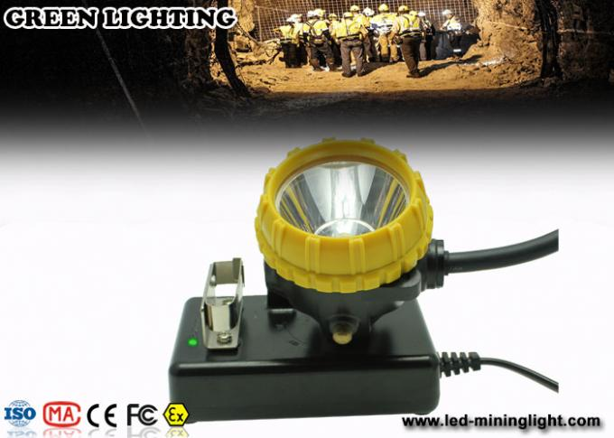 World Brightest Cap LED high power Mining Safety Lamp With USD charger