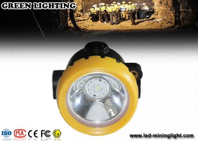 PC Small All in one Rechargeable LED Headlamp / waterproof coal miners lamp