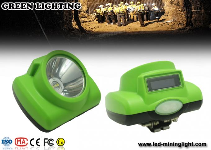 13000 Lux Safety Cordless Mining Lights / IP 68 Waterproof Miners Lights For Hard Hats