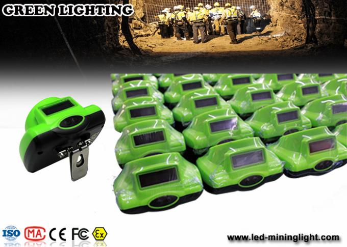 Portable Green Gemany Bayer LED Mining Light 6.2Ah 3.7V 18650 li ion battery