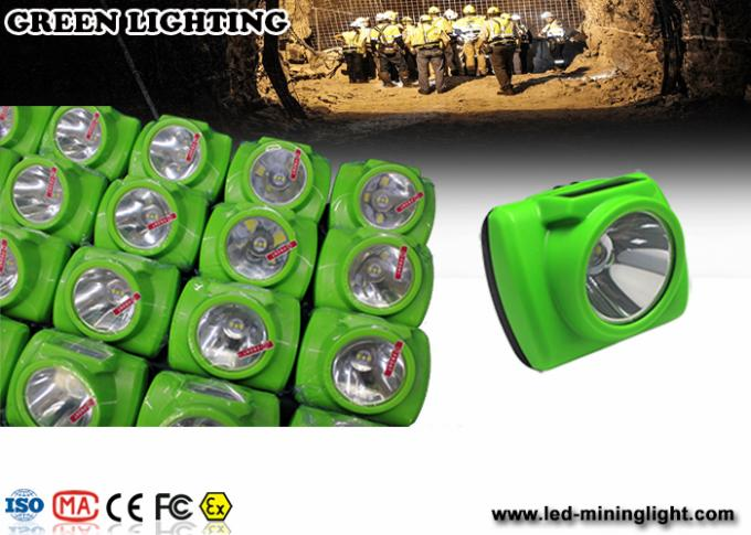 Waterproof LED Mining Light / Rechargeable Led Mining Headlamp 20 Hours Working Time 0