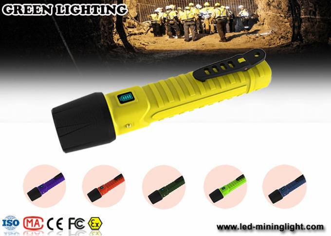10W CREE explosion proof flashlight impact resistance 3m lighting time 22 hours