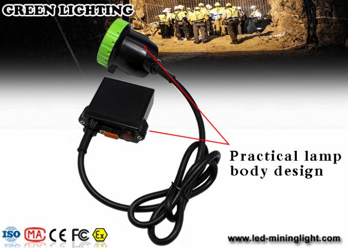 Accept OEM / ODM Coal Mining Lights , Cree LED Bulb Headlamp With 650lum 1500mA
