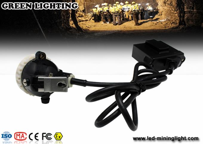 GL5-A LED Mining Light With 6.8Ah Li-Ion Battery , 4000lux High Brightness Mining Headlamp