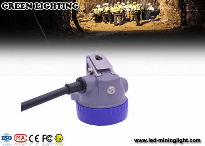 Customized Safety Coal Mining Light with Rechargeable 6.6Ah Lithium Ion Battery