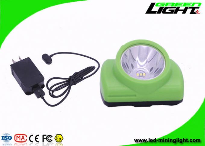 130000 Lux Underground Coal Mining Lights Explosion Proof With Waterproof Oled Screen