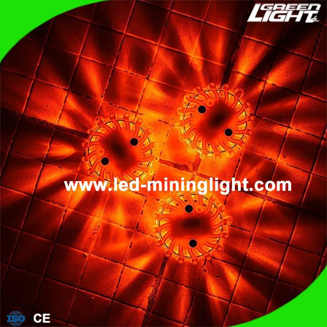 LED Road Flares Emergency Beacon Safety Flashing Warning Light for Car Truck Boat with Hook and Magnetic Base