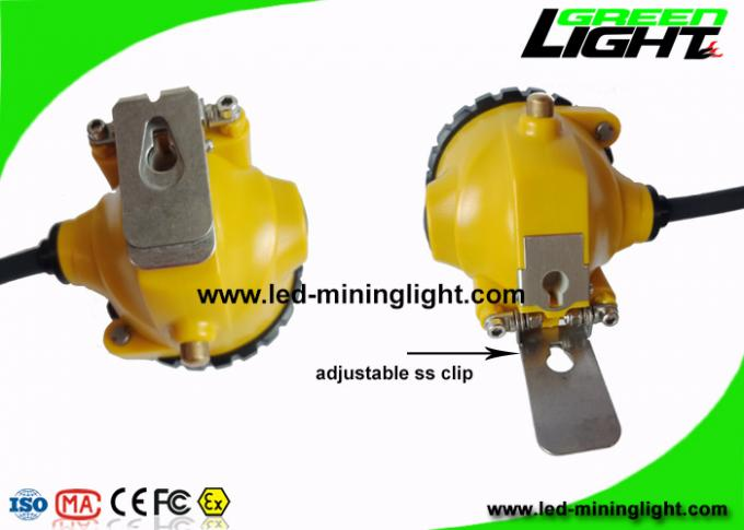 Rechargeable 3W Cree LED Mining Light Cap Lamp with Low Power Warning