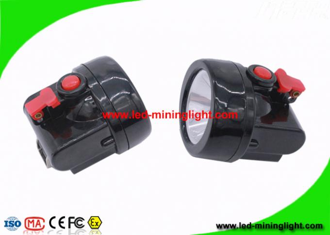 450mA 219 Lum Miners Helmet Light , Wireless Portable LED Mining Cap Lamp