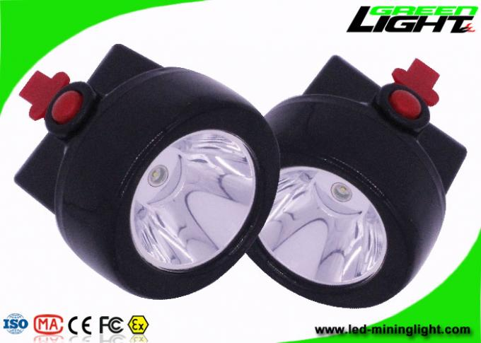 Impact - Resistant Mining Cap Lights , Cordless Coal Mining Lights 3.7V Rated Voltage