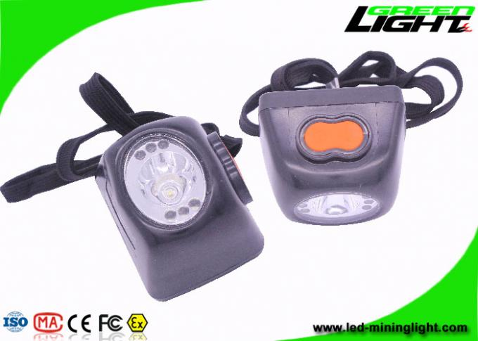 Plastic ABS Material LED Mining Light Portable For Mountian - Climbing