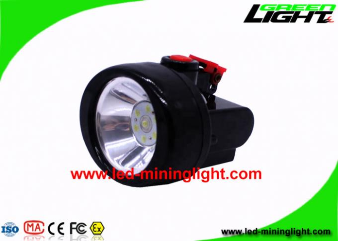 Portable Lightweight Cordless Mining Lights 4000 Lux 2.8Ah Battery Capacity