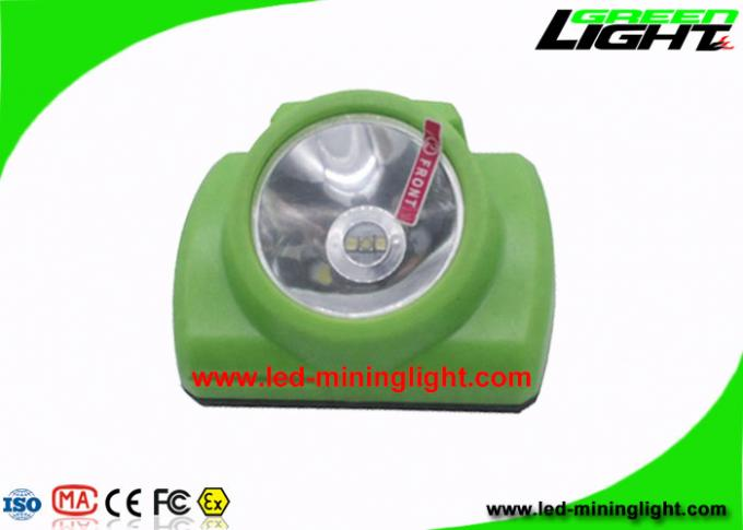 Energy Efficient LED Mining Cap Lamp Detachable structure with Push Button