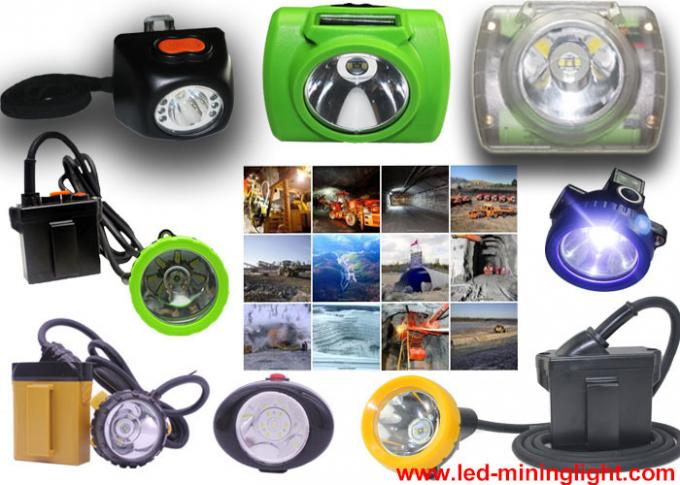 Safety Cree LED Headlamp Rechargeable Portable With Hard Engineering Plastic