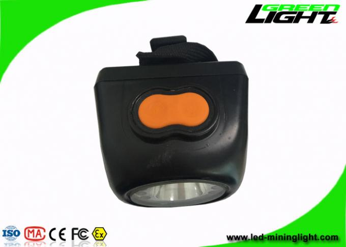 LED Cordless Coal Mining Lights 4000 Lux 4.5Ah Battery With One Year Warranty
