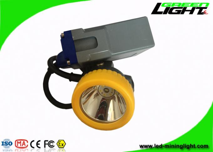 Digital Rechargeable LED Headlamp 15000lux Super Bright With 1000 Cycles Battery Lifetime