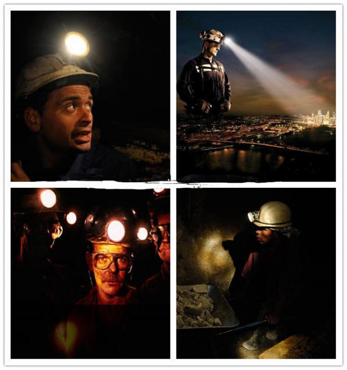 Long Service Life Coal Mining Lights 10000 Lux For Explosive Gas Environment Zone 4