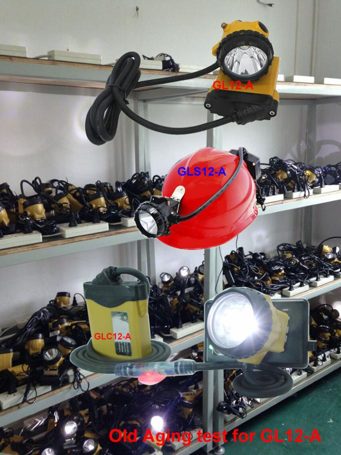 High Brightness 25000 Lux Miners Helmet Light with SOS Low Power Warning Function