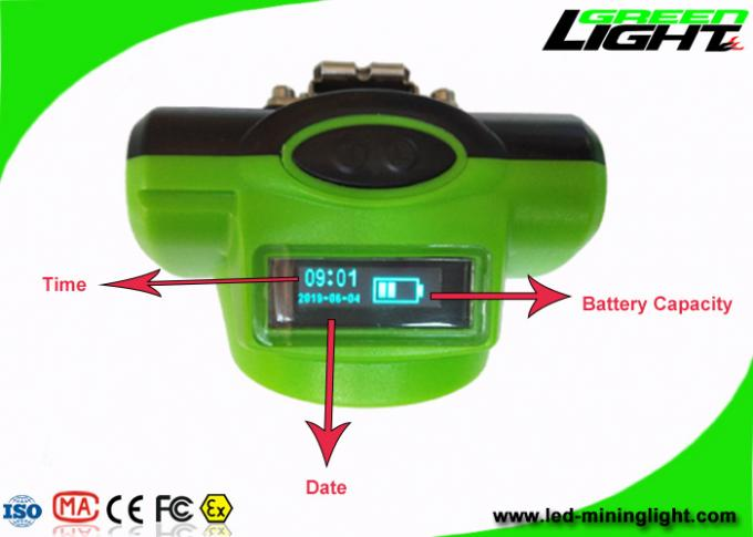 Super Bright Hard Hat Led Lights GLC-6 Cordless 6.8Ah Rechargeable Battery Small Size