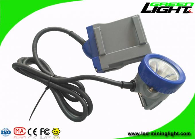 10000 Lux Brightness Coal Mining Lights IP68 Waterproof 1000 Battery Cycles 3.7V