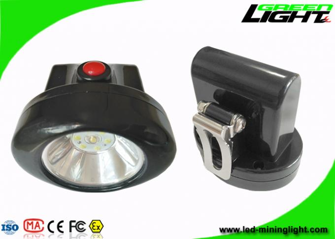 Lightweight Cordless Mining Lights ABS Materials 4000 Lux Brightness 1 Year Warranty