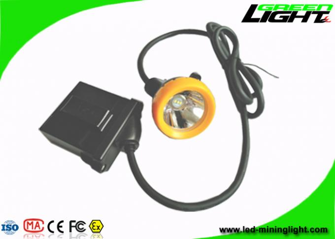 Underground Coal Miners Lamp 10000lux Brightness With 18hrs Long Lighting Time
