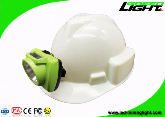 IP68 Small Size Hard Hat Led Lights Cordless Lamps 13000LUX Support USB Charging