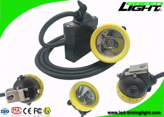 10000 Lux Brightness LED Mining Light Underground Rechargeable Headlamp With USB Charging