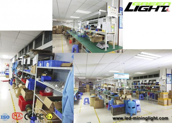 Antistatic LED Mining Cap Lamp 15000lux Brightness With Tracking Technology