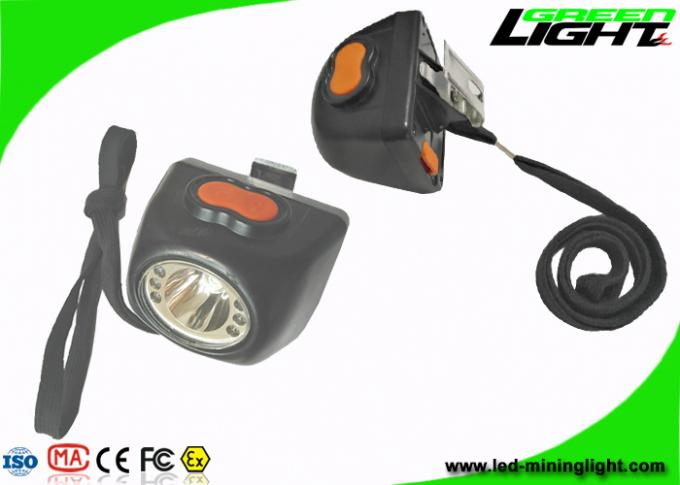 Lightweight LED Cordless Mining Lights 8000lux All In One Structure With Safety Rope