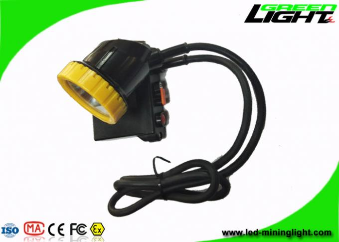Super Bright 50000lux Coal Mining Lights IP68 11.2Ah With Aluminum Lighting Cup 0