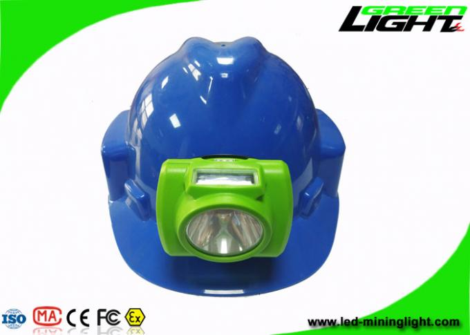 Portable Mining Cap Lights Lamp Oled Screen 13000lux IP68 14-16hrs Woking Time