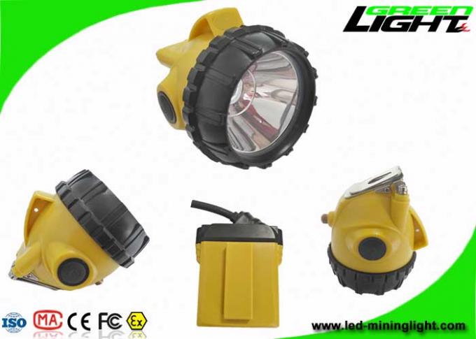 Underground Coal Mining Lights 25000lux 10.4Ah Rechargeable Samsung Battery