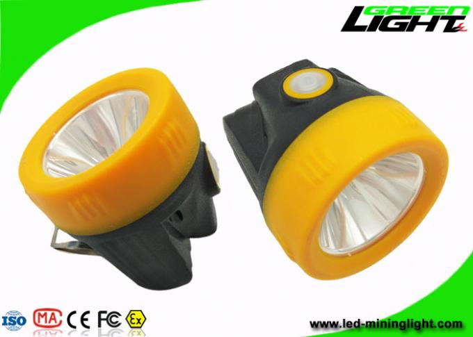 Lithium Ion Battery Rechargeable LED Headlamp Anti Explosive Portable 10000lux IP68 1