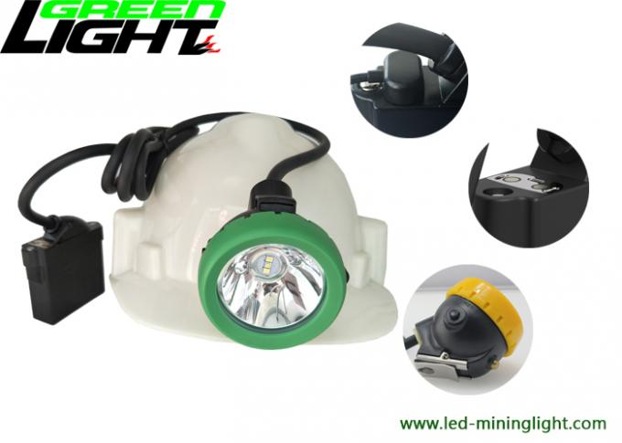 Underground Cap Lamp Rechargeable Led Headlight ABS Material Support USB Fast Charging