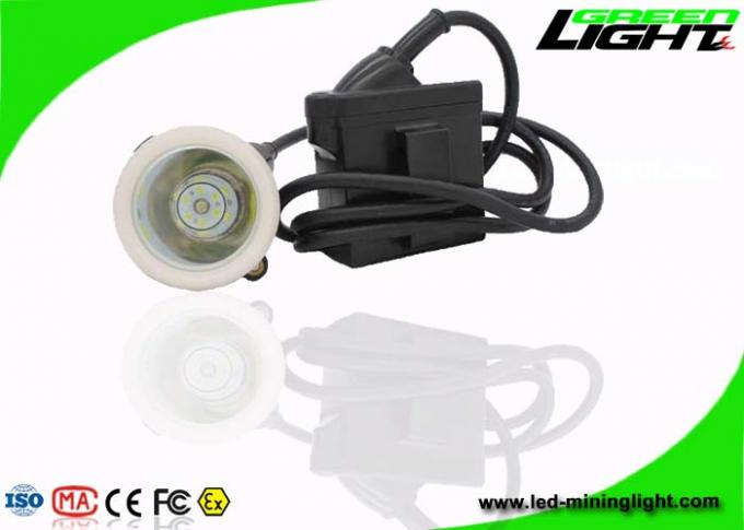 4000lux Mining Cap Corded Lamp  Industrial Emergency Lights IP67 1200 Cycles Battery