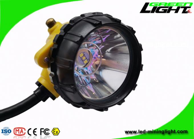 High Performance LED Miners Cap Lamp 25000lux Brightness 1200 Battery Cycles 1