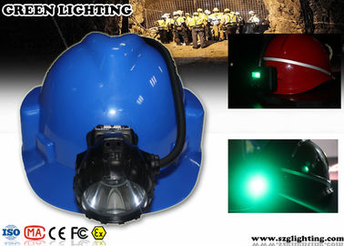 China 6.8AH Panasonic Battery Coal Miners Headlamp supplier