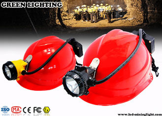 China Ultra Bright Rechargeable LED Hard Hat Light supplier