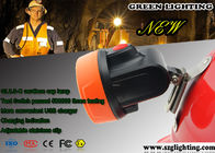 Waterproof Anti Explosive LED Mining Cap Lights 6000 Lux Strong Brightness