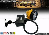 Custom Semi - Corded Mining Cap Lights 10000 Hours Life Span 3.7V 15000 Lux