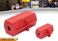 Durable Plug Lock Out Rugged Polypropylene 6.5 * 6.5 * 11.8 Cm Size